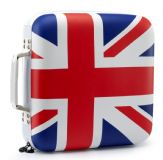 Slappa HardBody 240 CD Pro Carry Case - Union Jack Flag